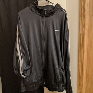 Men's Black Nike Jacket 3XL